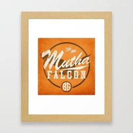 MF-ing BG Framed Art Print