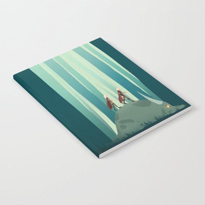 Trollhunters Notebook