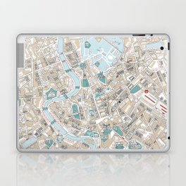 Map of Rome Laptop & iPad Skin