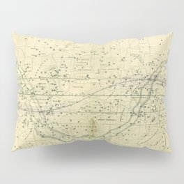 A Celestial Planisphere or Map of The Heavens Pillow Sham