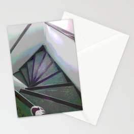 Footsteps on the stairs Stationery Cards