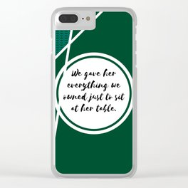 Sadie Clear iPhone Case