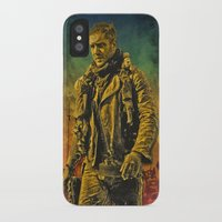 mad max iPhone & iPod Cases featuring Mad Max Fury Road by FCRUZ