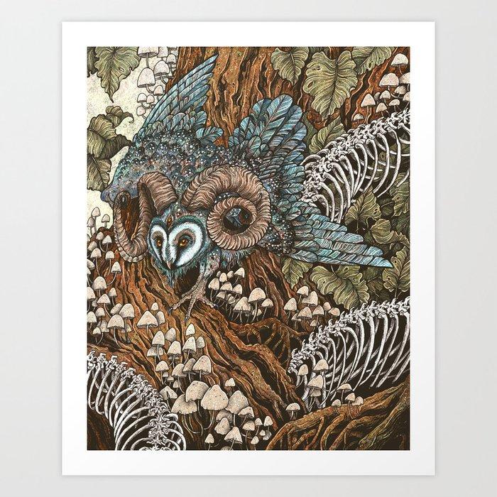 Bone Picker Art Print