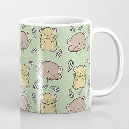 Hamster Pattern Coffee Mug