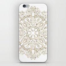 Mandala Gold iPhone Skin