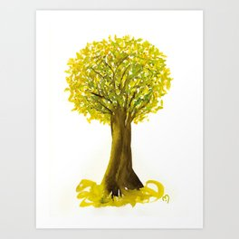 The Fortune Tree #5 Art Print