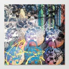 YOSEMITE/ STRIPES Canvas Print