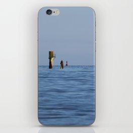 At the sea iPhone Skin