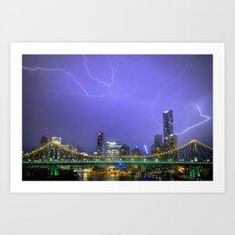 Storm Art Print
