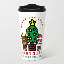 baby milo christmas Travel Mug