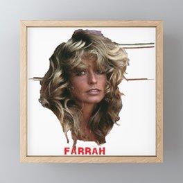 Farrah Framed Mini Art Print