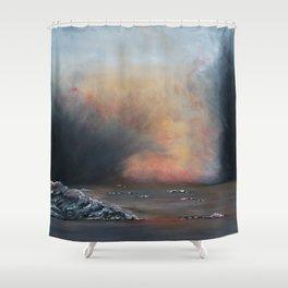 Iceland-GerlindeStreit Shower Curtain
