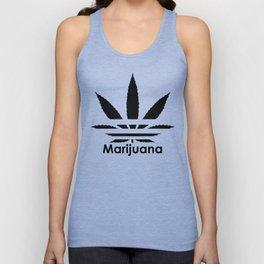 Marijuana brand Unisex Tank Top