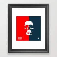 Democracy Framed Art Print