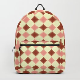 AZTEC, CORAL AND PEACH Backpack