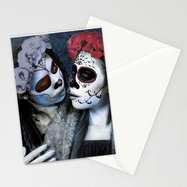 Beso de la Muerta Stationery Cards