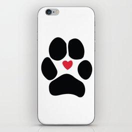 Dog Paw iPhone Skin
