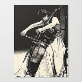 violoncello Canvas Print