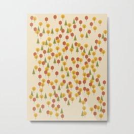 Geometric Woods Ver. 3 Metal Print