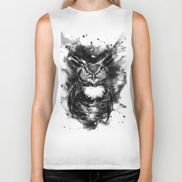 Spirit animal Owl Biker Tank