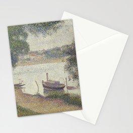 Gray weather, Grande Jatte Stationery Cards