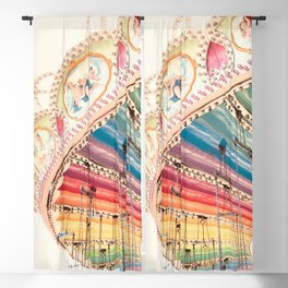 Flying Carousel 1 - Six Flags America Blackout Curtain