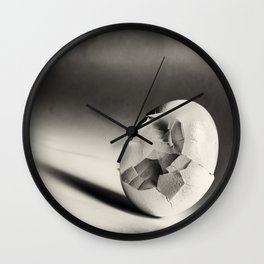 Shattered Remnant Wall Clock