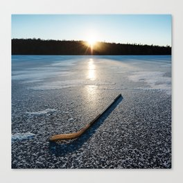 Ice Time Canvas Print
