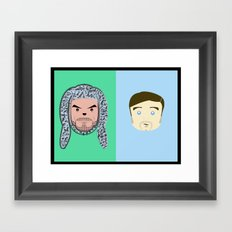 Wilfred & Ryan Framed Art Print
