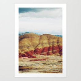 Painted Hills Art Print