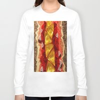 triangles Long Sleeve T-shirts featuring Triangles by Sara Hazaveh