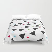 confetti Duvet Covers featuring Confetti by In Sight