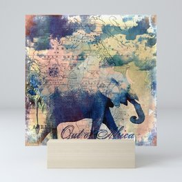 Elephants Journey Mini Art Print