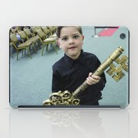 key iPad Cases featuring Key by Faith Buchanan