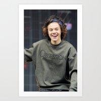 Harry Styles BBC Art Print