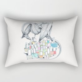 Fifi the Dragon Rectangular Pillow