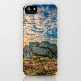 Sunset by Hitching Stone iPhone Case