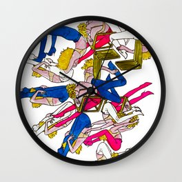 rock rests. Wall Clock
