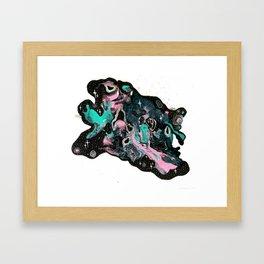 Black Milk Framed Art Print