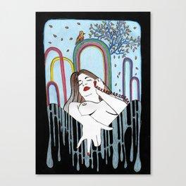 color - phone Canvas Print