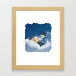 On the cloud Framed Art Print