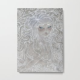 Young Medusa Metal Print