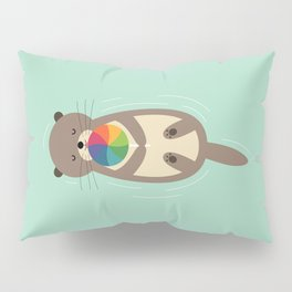 Sweet Otter Pillow Sham