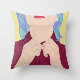 Job Interview Throw Pillow