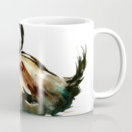 Ruddy Duck, duck children illustration, cute duck artwork Coffee Mug