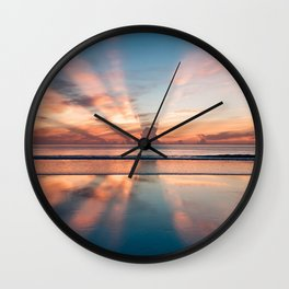 our beautiful world Wall Clock