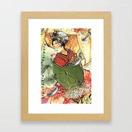 Ukiyo Framed Art Print