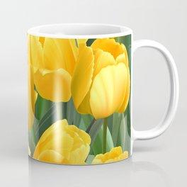 Yellow Tulips Field Coffee Mug