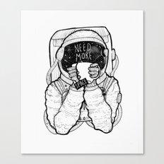 Space Tea Canvas Print